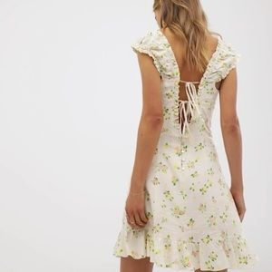 NWT 70S INSPIRED FREE PEOPLE DRESS